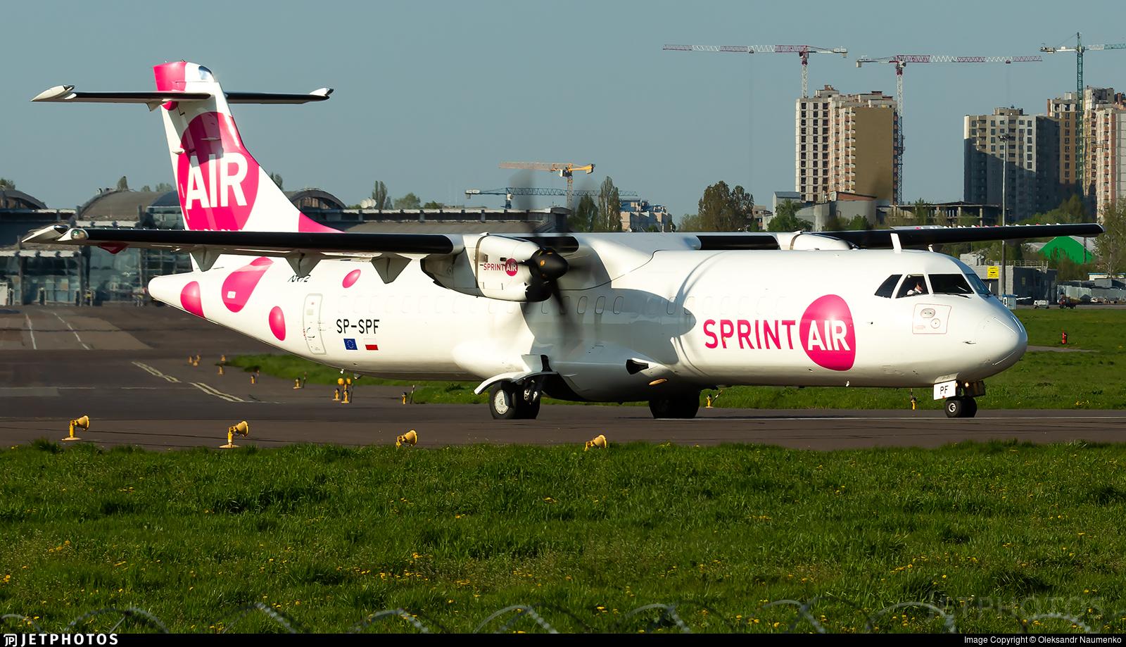SP-SPF - ATR 72-212A(500)(F) - SprintAir