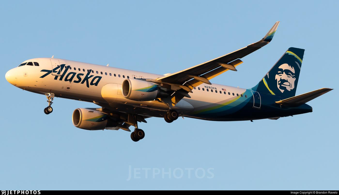 N283VA - Airbus A320-214 - Alaska Airlines