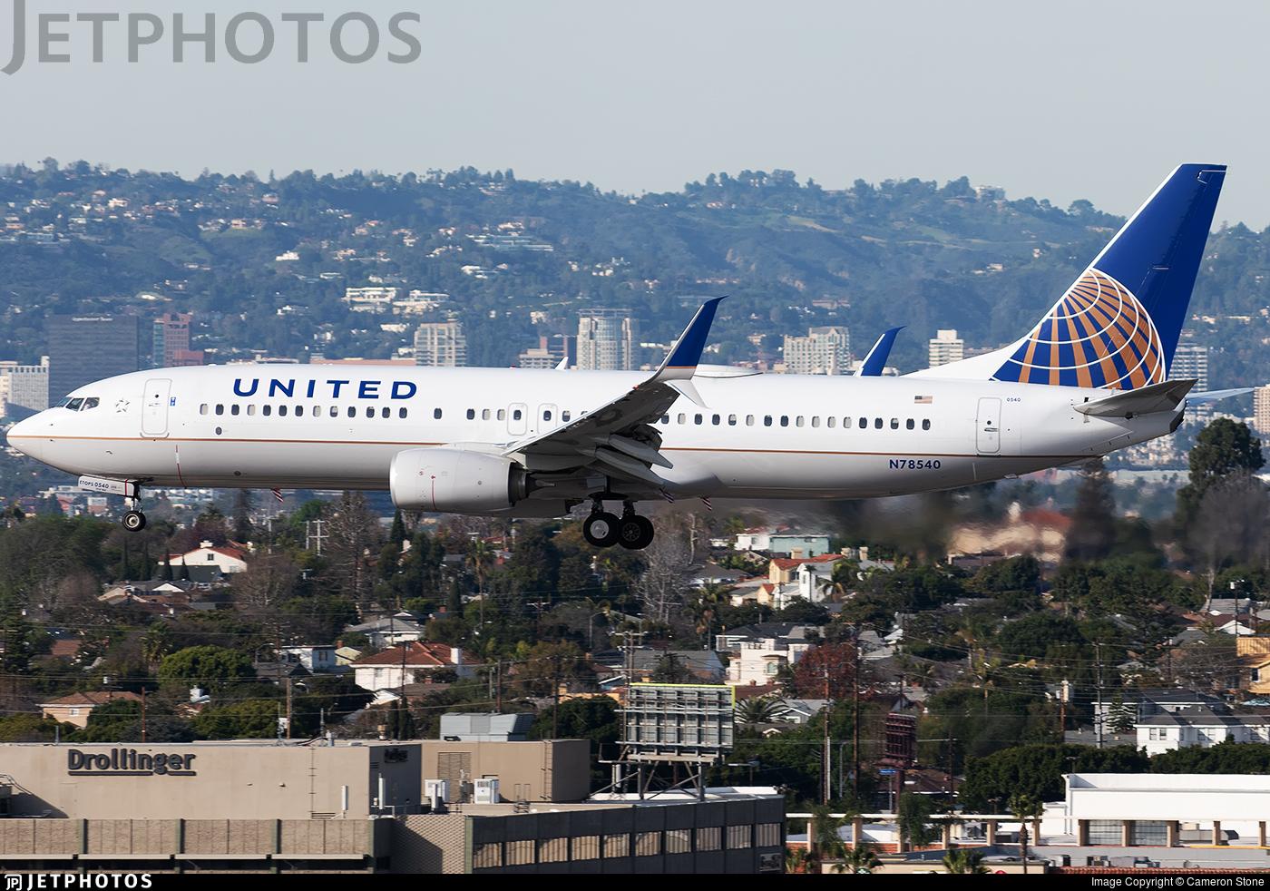 N78540 - Boeing 737-824 - United Airlines