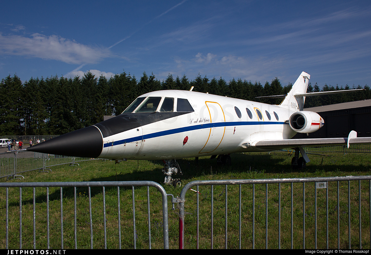 483 - Dassault Falcon (Mystere) 20SNA - France - Air Force