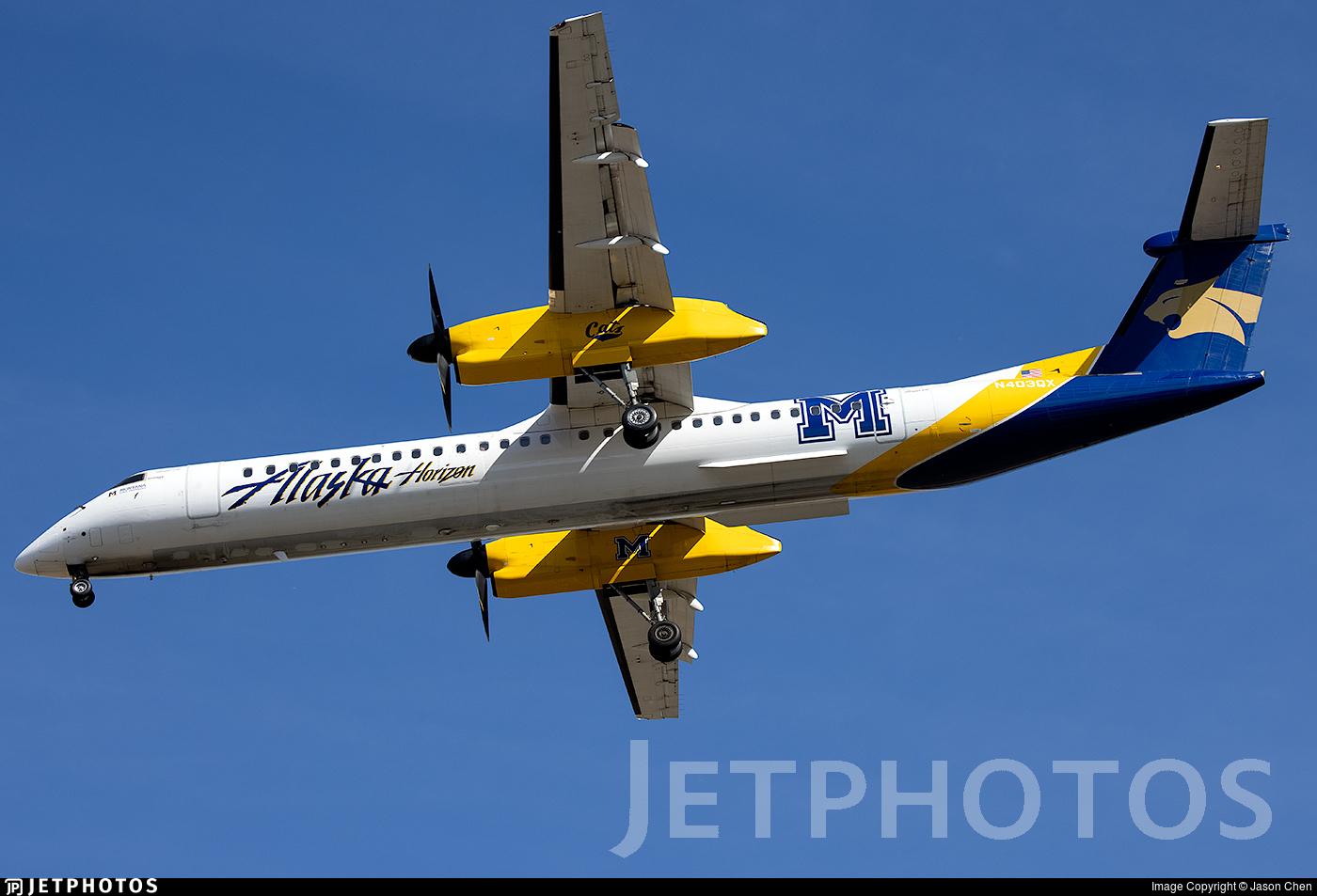 N403QX - Bombardier Dash 8-Q402 - Alaska Airlines (Horizon Air)