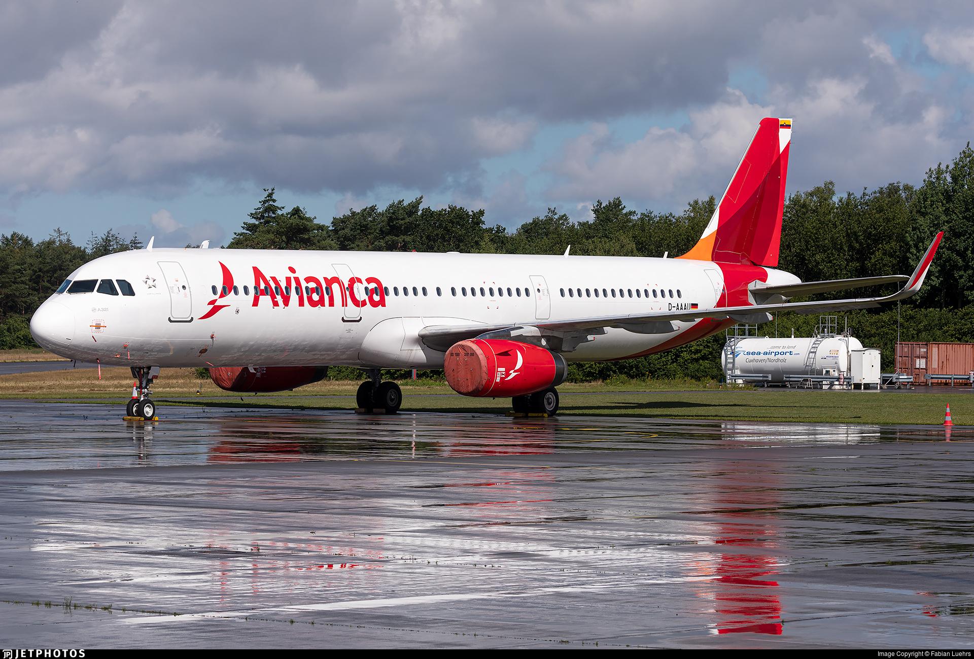 D-AAAU - Airbus A321-231 - Avianca