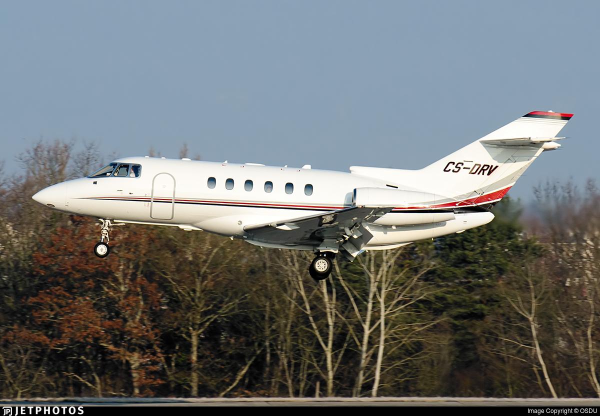 CS-DRV - Raytheon Hawker 800XP - NetJets Europe