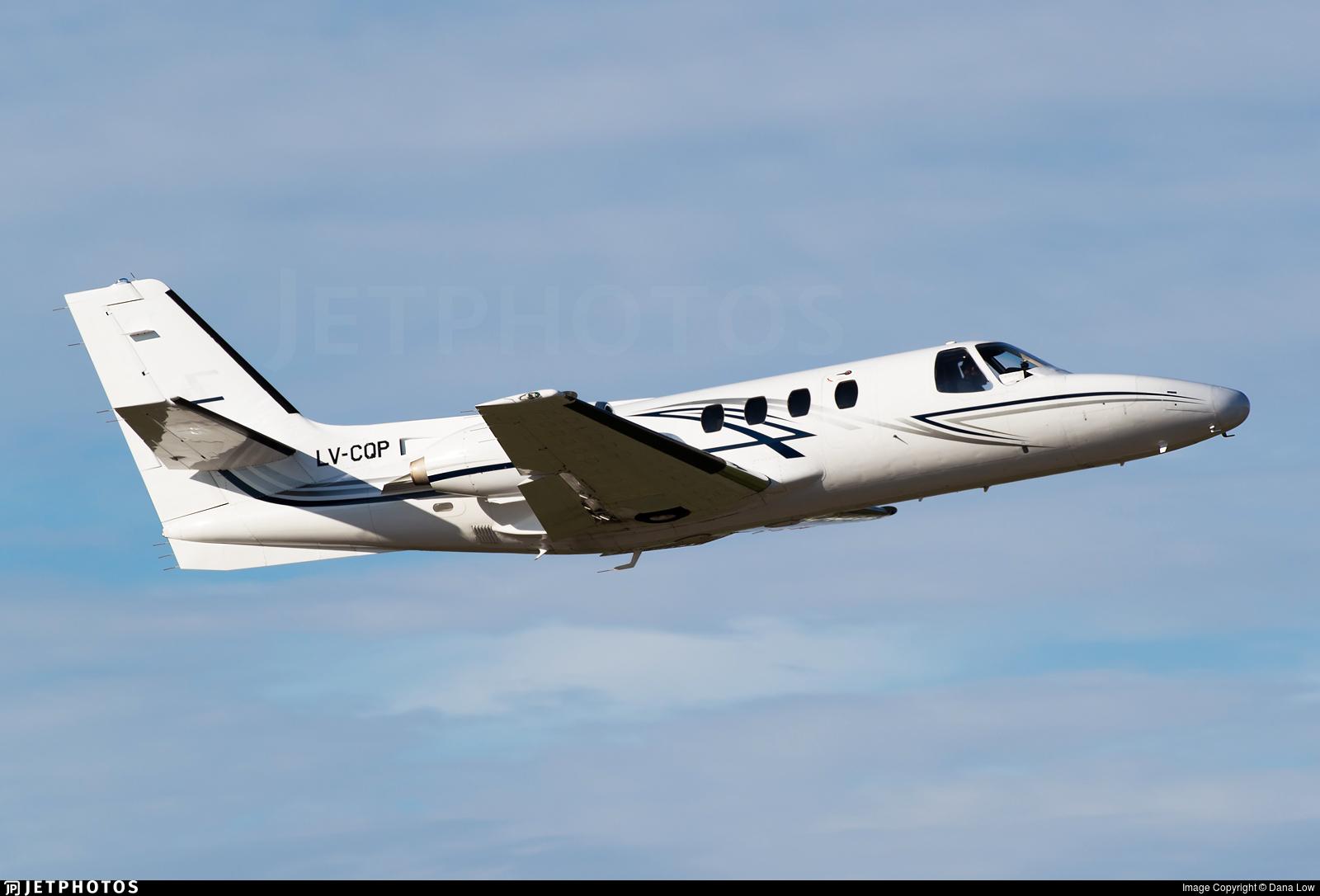 LV-CQP - Cessna 501 Citation SP - Private