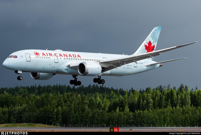 C-GHQQ - Boeing 787-8 Dreamliner - Air Canada