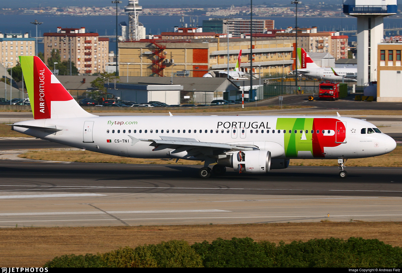 CS-TNI - Airbus A320-214 - TAP Air Portugal