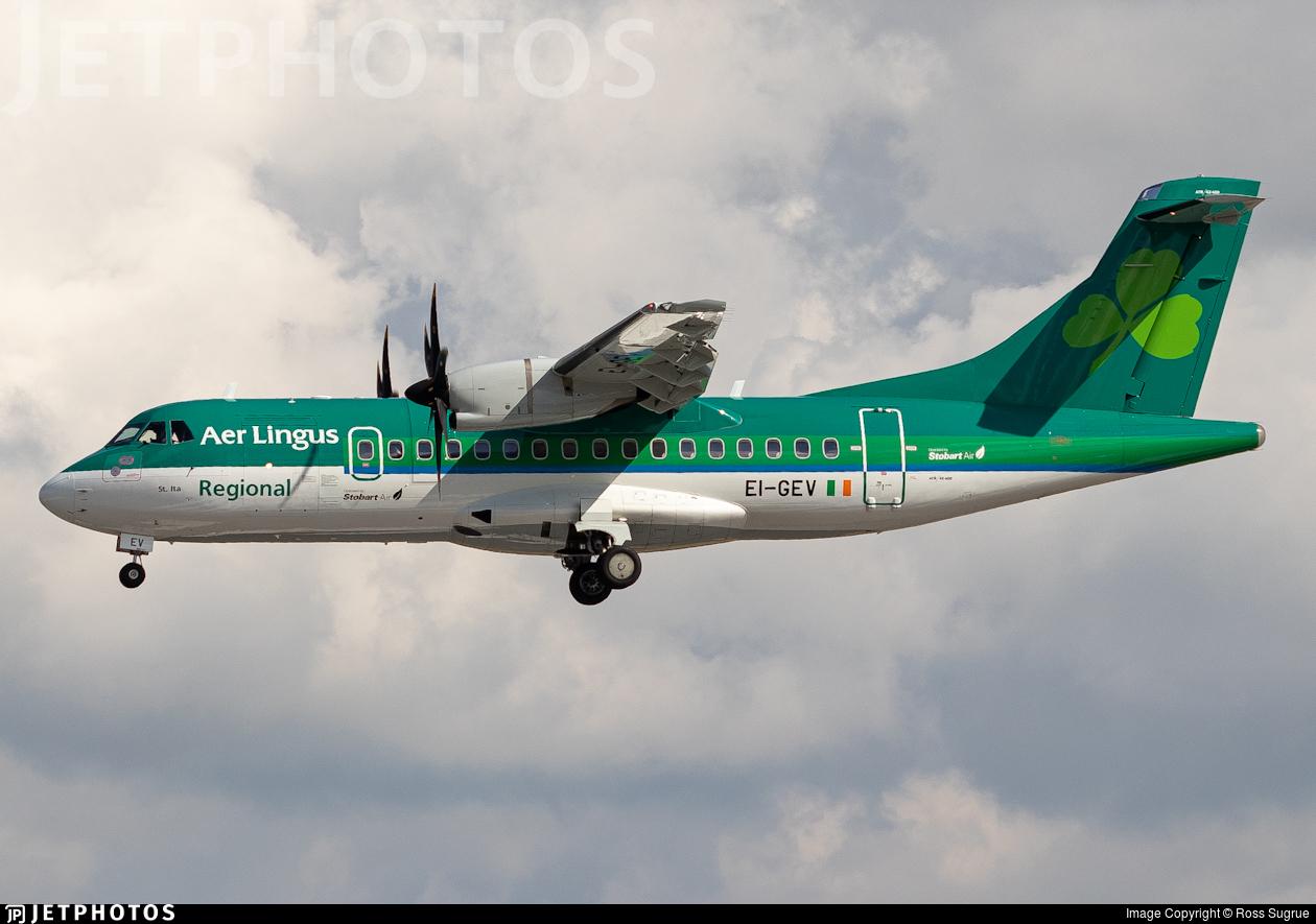 EI-GEV - ATR 42-600 - Aer Lingus Regional (Stobart Air)