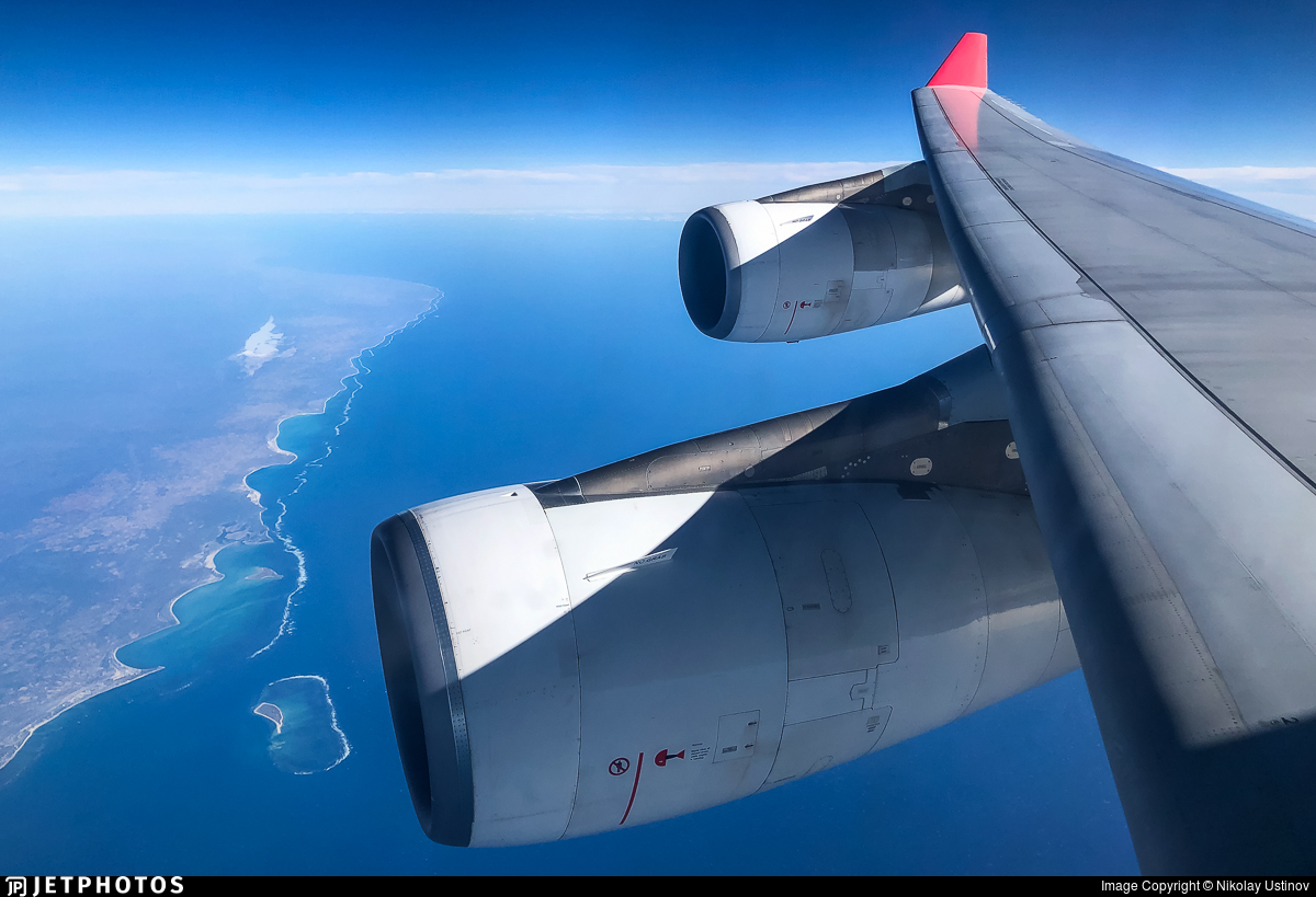 3B-NBD - Airbus A340-313X - Air Mauritius