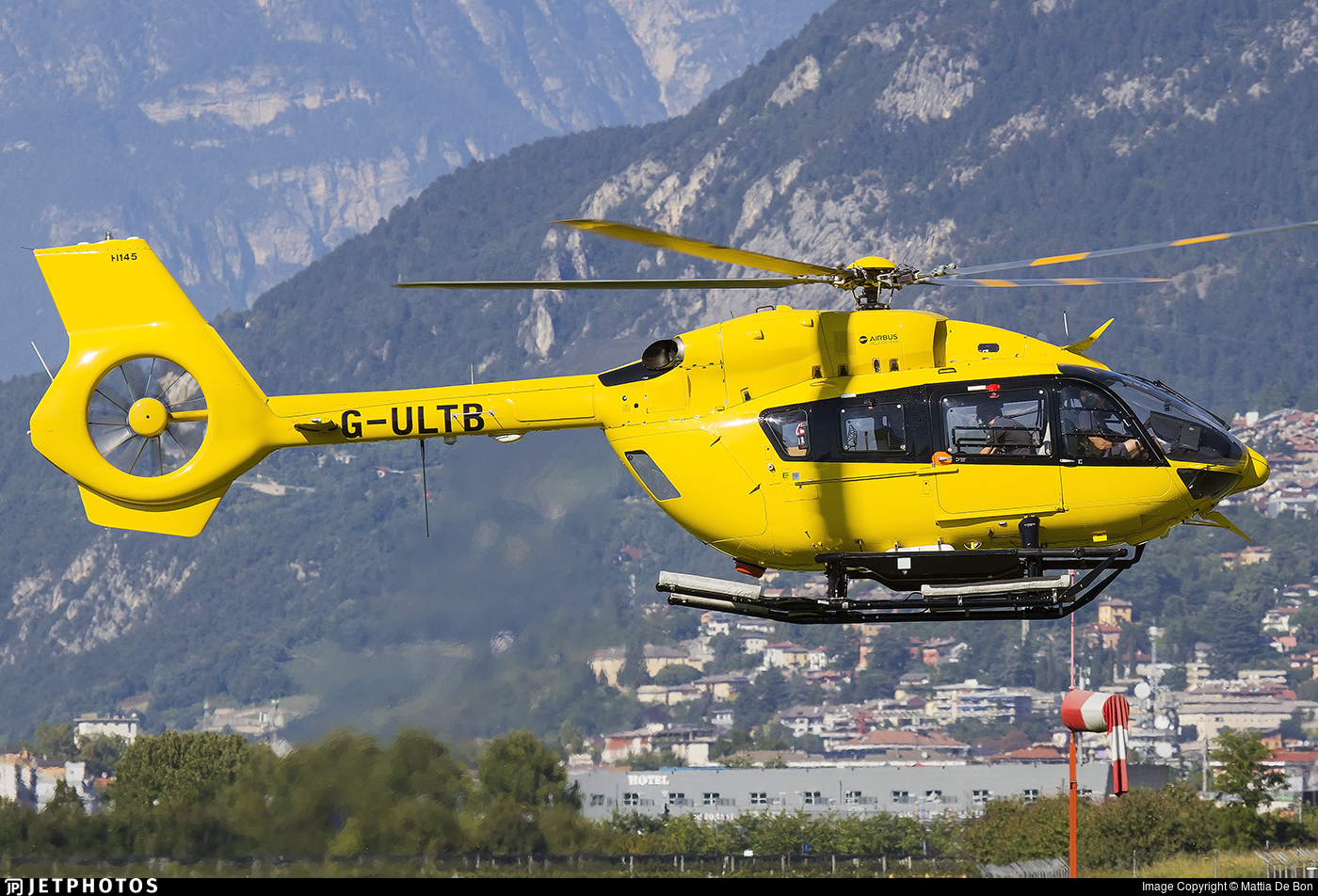 G-ULTB - Airbus Helicopters H145 - Starspeed