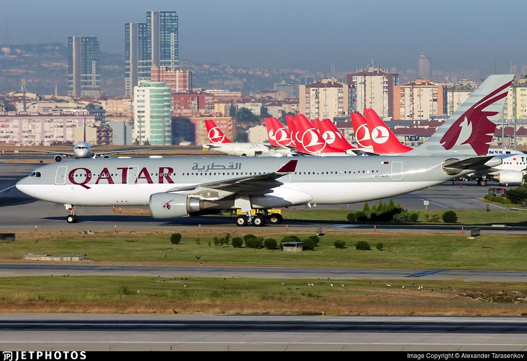 A7-ACH - Airbus A330-202 - Qatar Airways