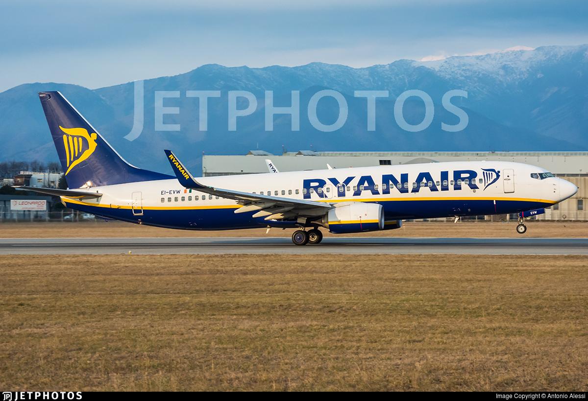 EI-EVW - Boeing 737-8AS - Ryanair
