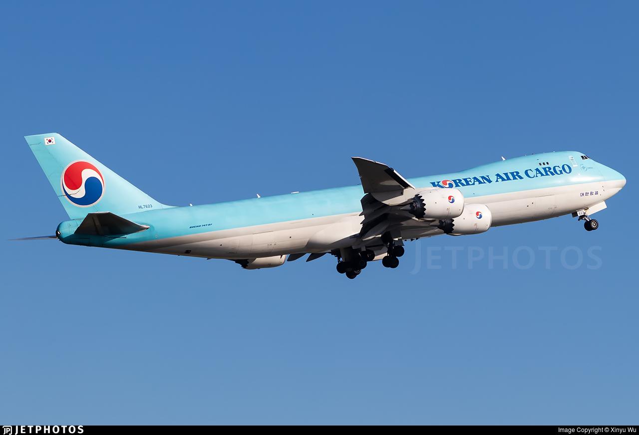 HL7623 - Boeing 747-8B5F - Korean Air Cargo