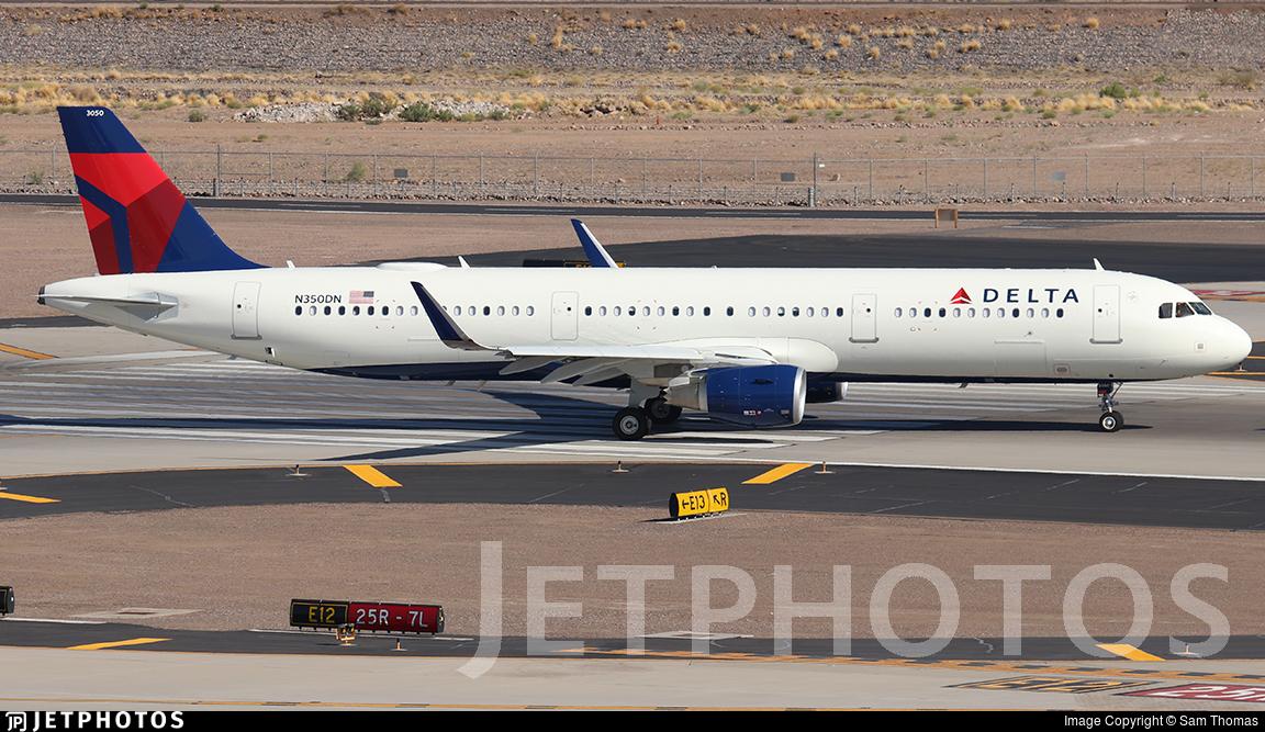 N350DN - Airbus A321-211 - Delta Air Lines
