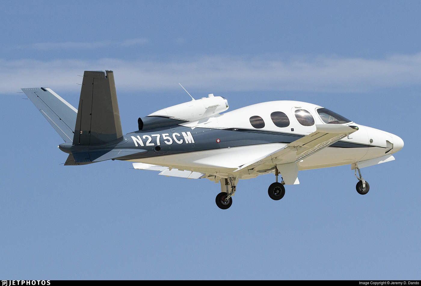 N275CM - Cirrus Vision SF50 G2 - Cirrus Design Corporation