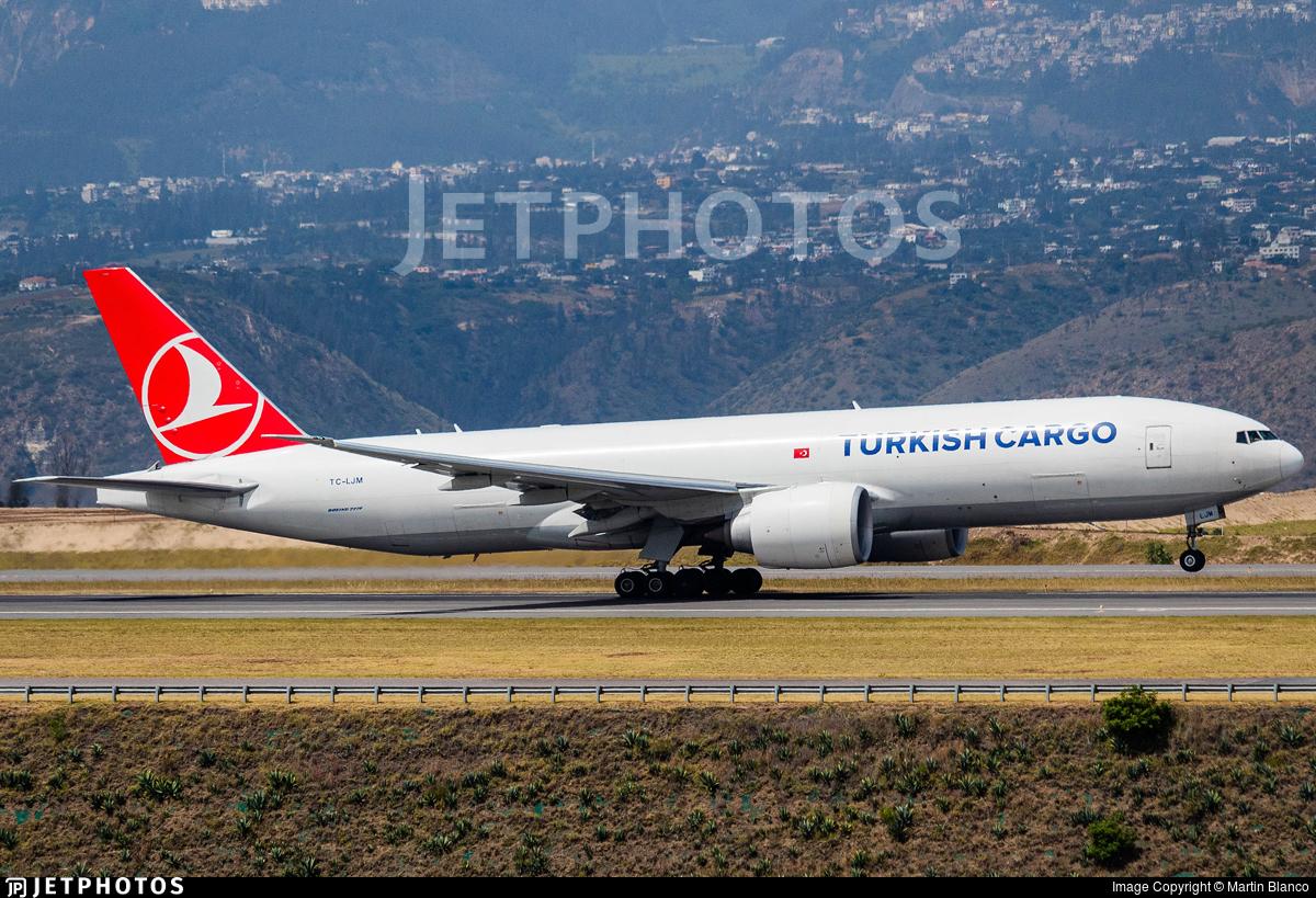 TC-LJM - Boeing 777-FF2 - Turkish Airlines Cargo