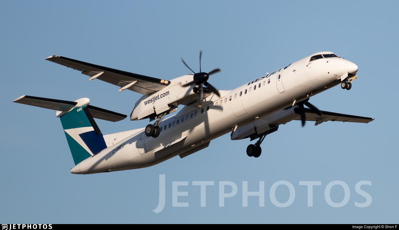 C-GWEJ - Bombardier Dash 8-Q402 - WestJet Encore