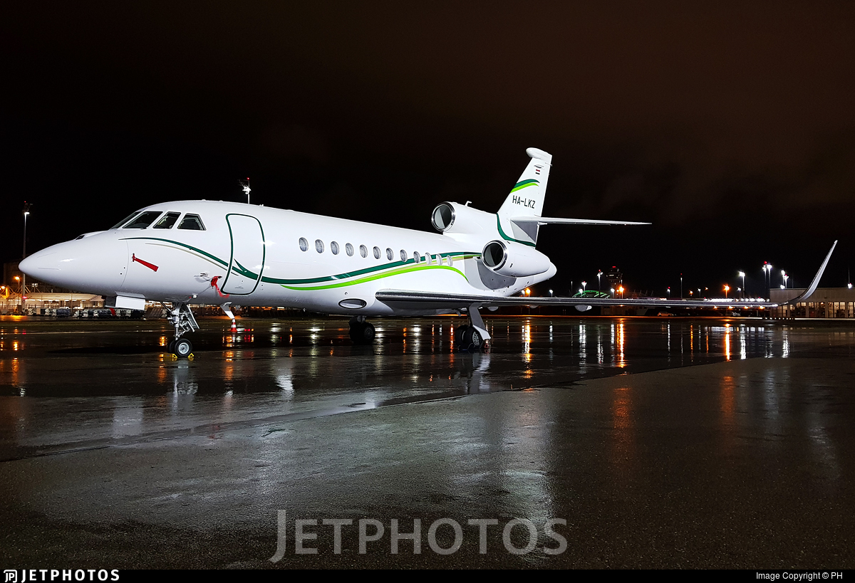 HA-LKZ - Dassault Falcon 900LX - Private