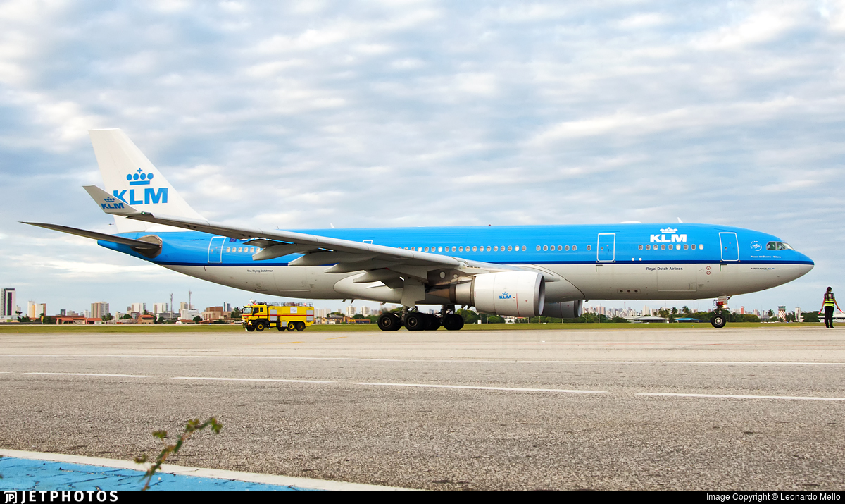 PH-AOD - Airbus A330-203 - KLM Royal Dutch Airlines