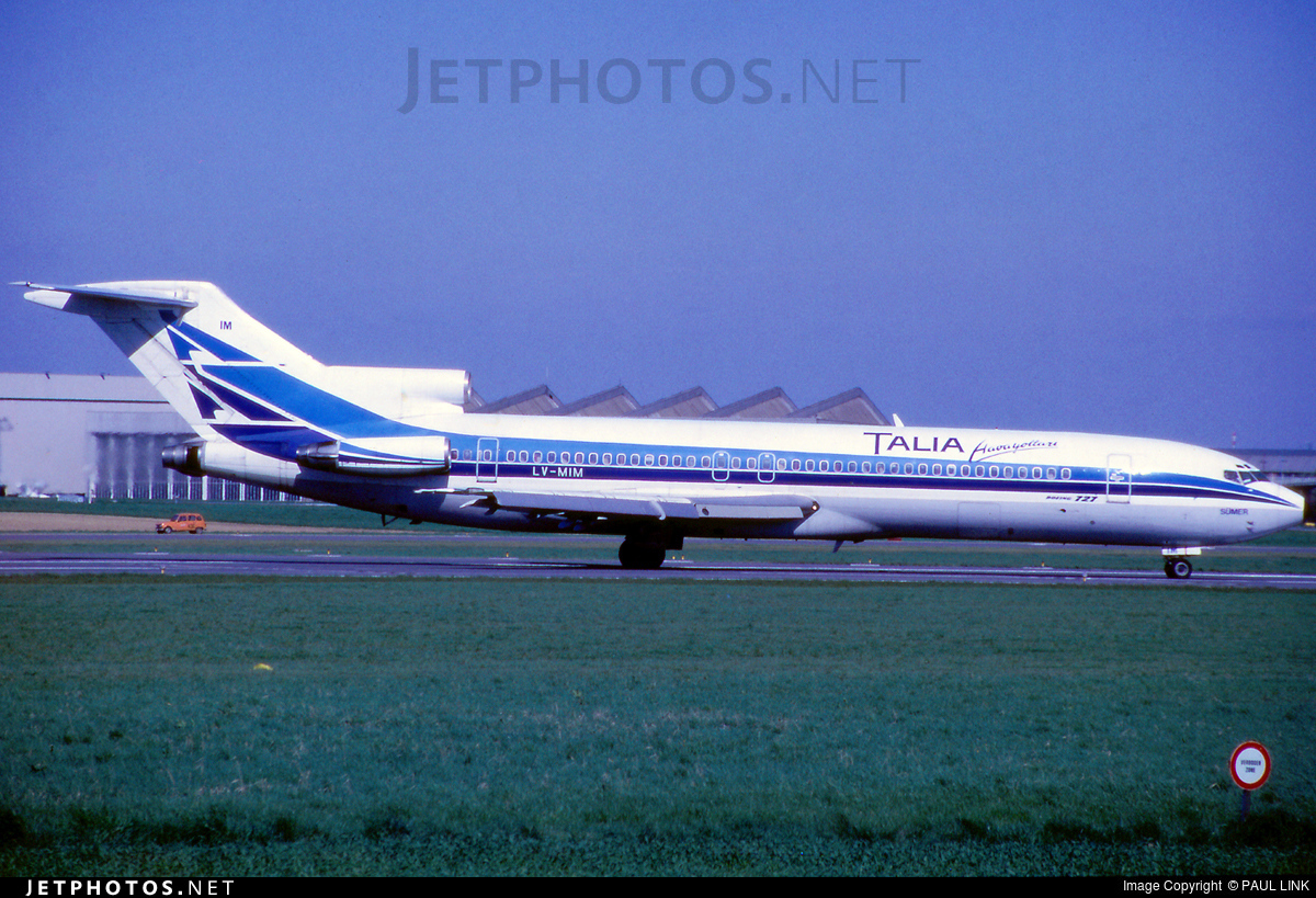 LV-MIM - Boeing 727-287(Adv) - Talia Airways