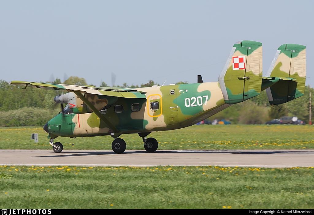 0207 - PZL-Mielec M-28TD Bryza - Poland - Air Force