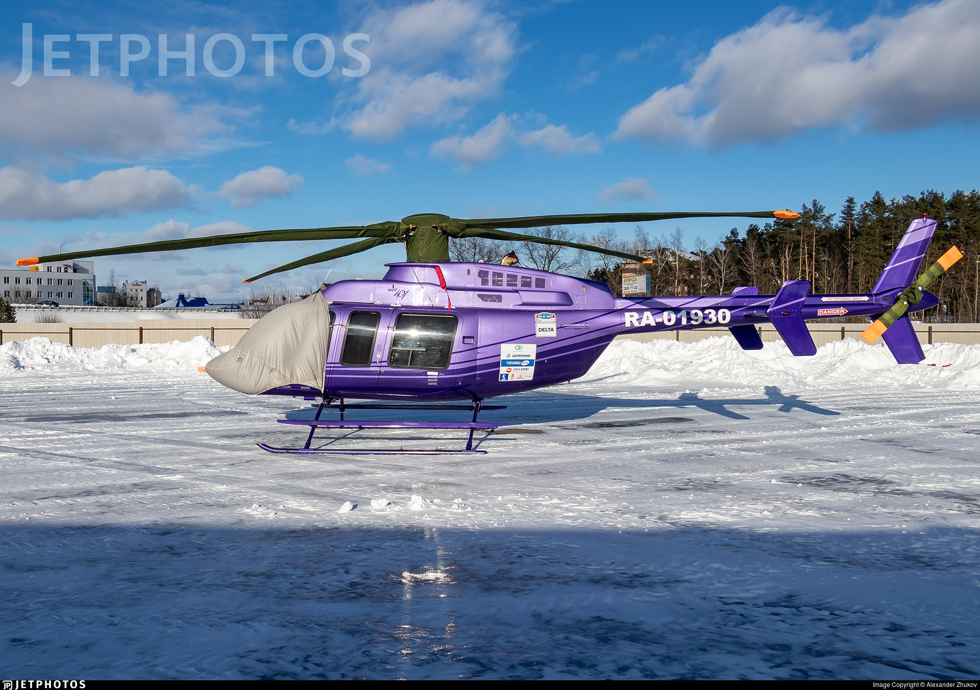 RA-01930 - Bell 407 - Private