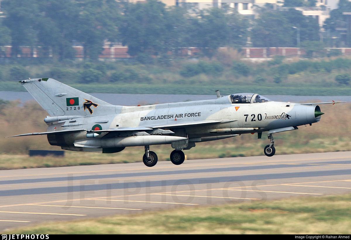 2720 - Chengdu F-7BGI - Bangladesh - Air Force