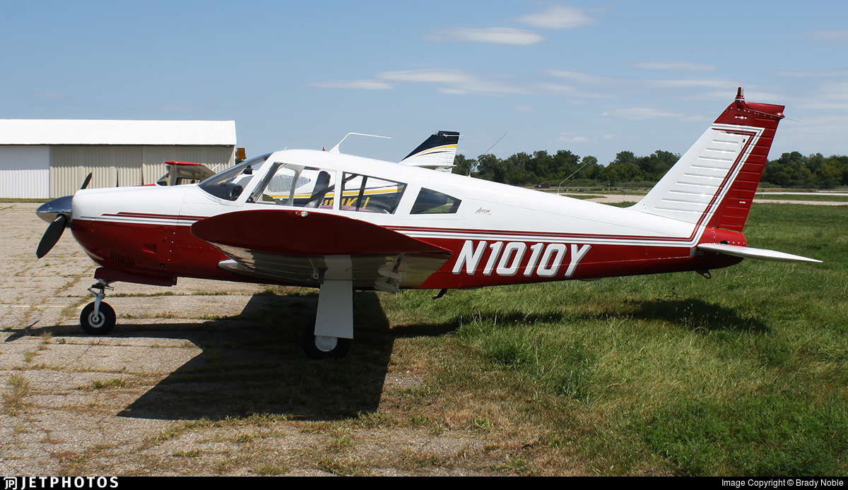 N1010Y - Piper PA-28R-200 Arrow II - Private