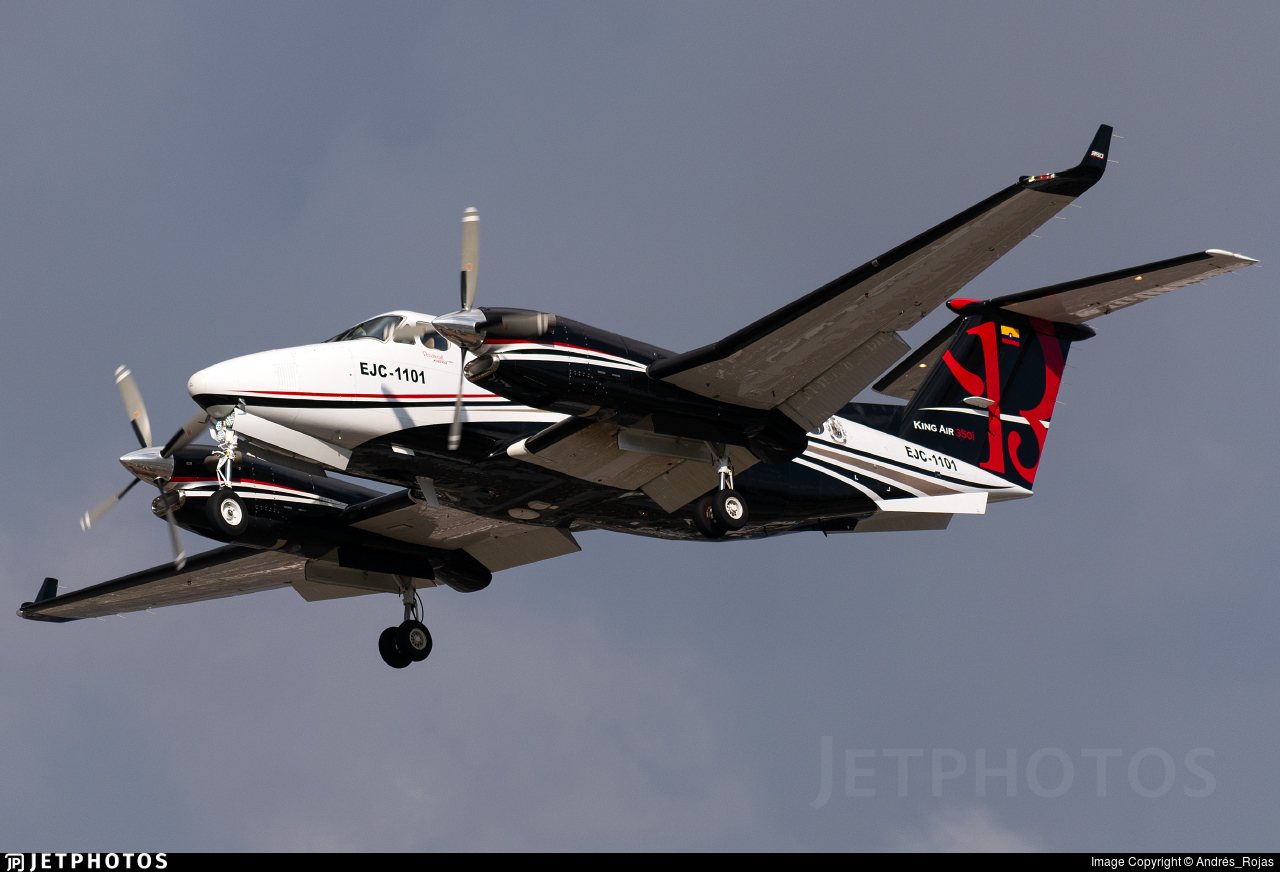 EJC1101 - Beechcraft 300 Super King Air - Colombia - Army