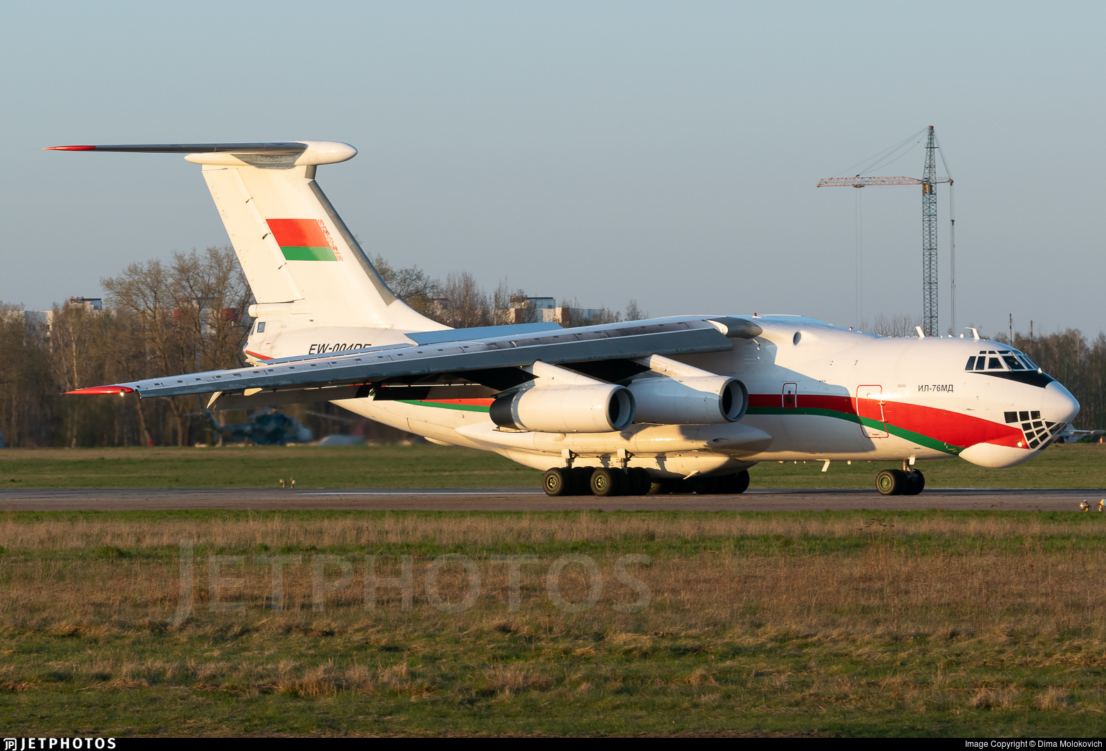 EW-004DE - Ilyushin IL-76MD - Belarus - Air Force