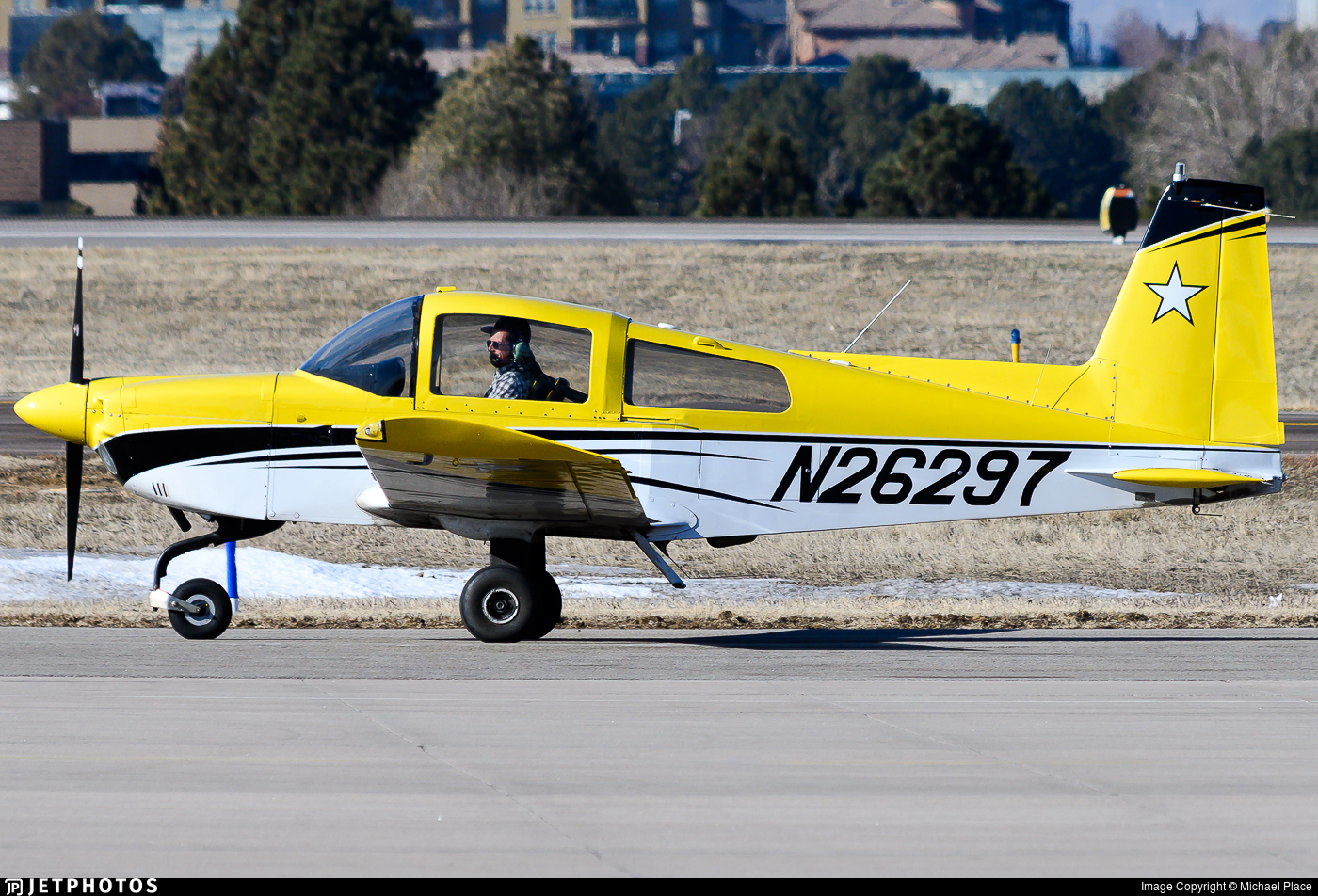 N26297 - Grumman American AA-5B Tiger - Private