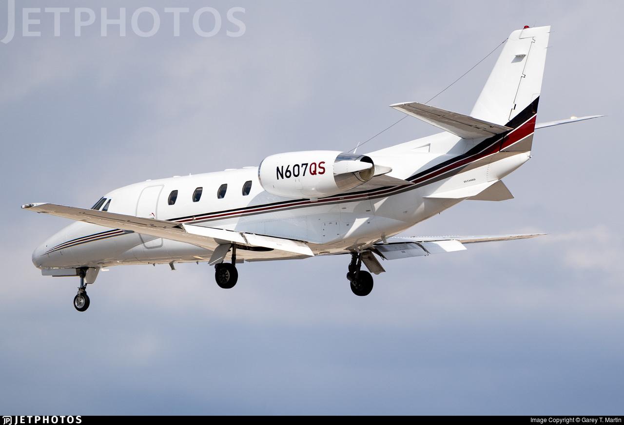 N607QS - Cessna 560XL Citation Excel - NetJets Aviation
