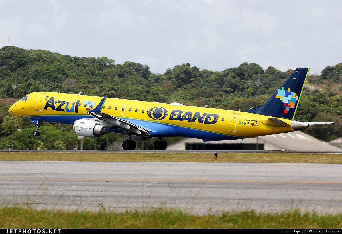 PR-AUA - Embraer 190-200IGW - Azul Linhas Aéreas Brasileiras