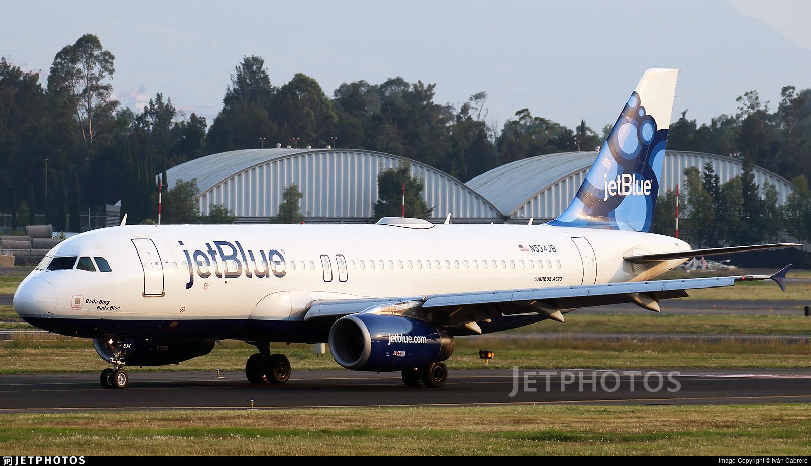 N534JB | Airbus A320-232 | jetBlue Airways | Iván Cabrero