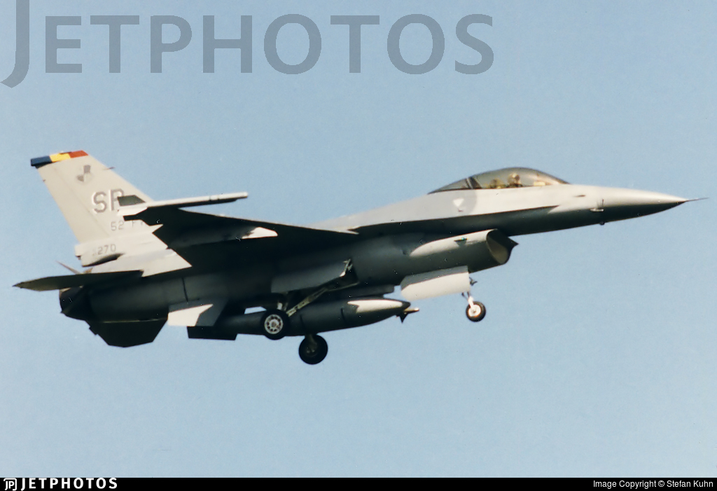 87-0270 - General Dynamics F-16C Fighting Falcon - United States - US Air Force (USAF)