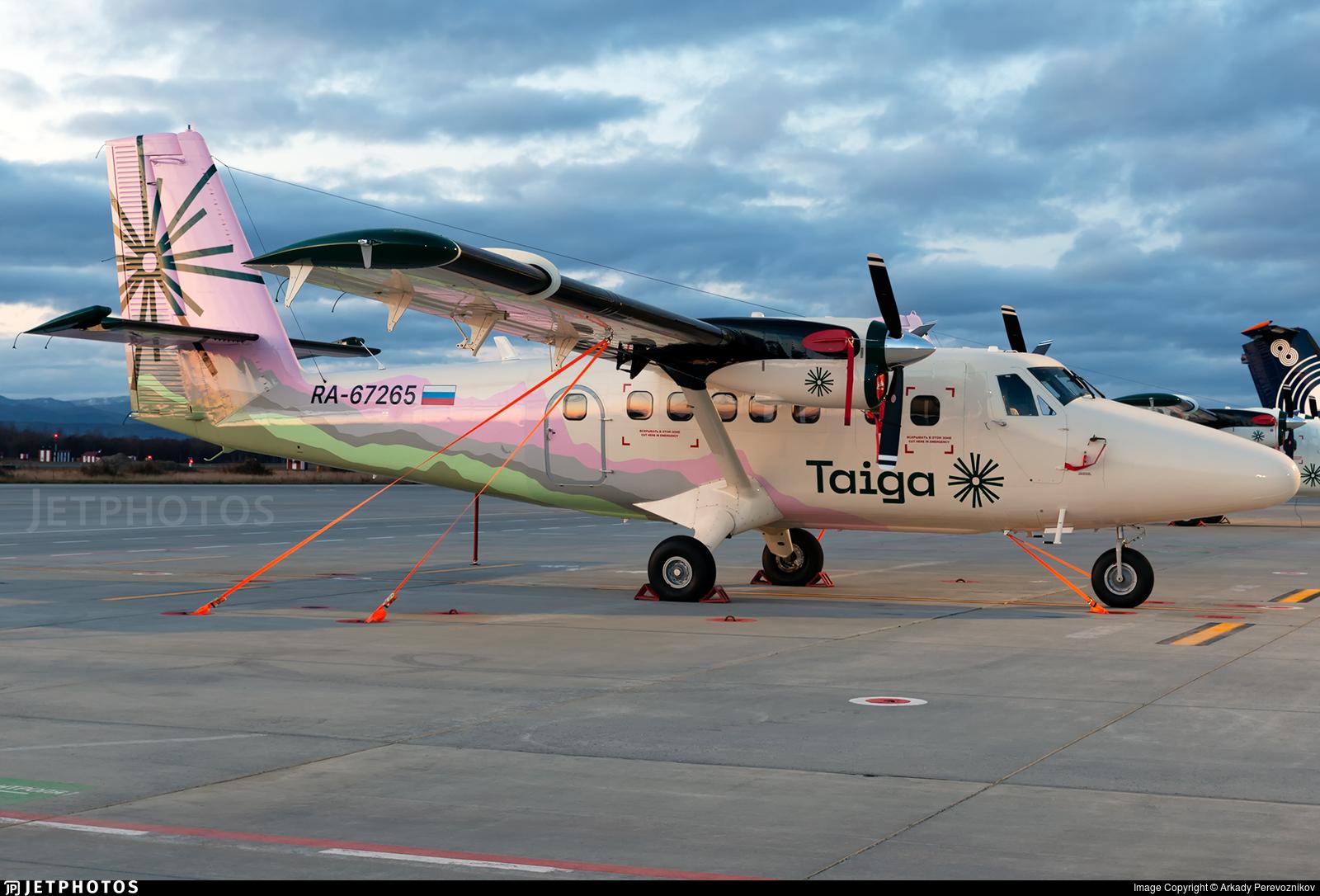 RA-67265 - Viking DHC-6-400 Twin Otter - Taiga Air