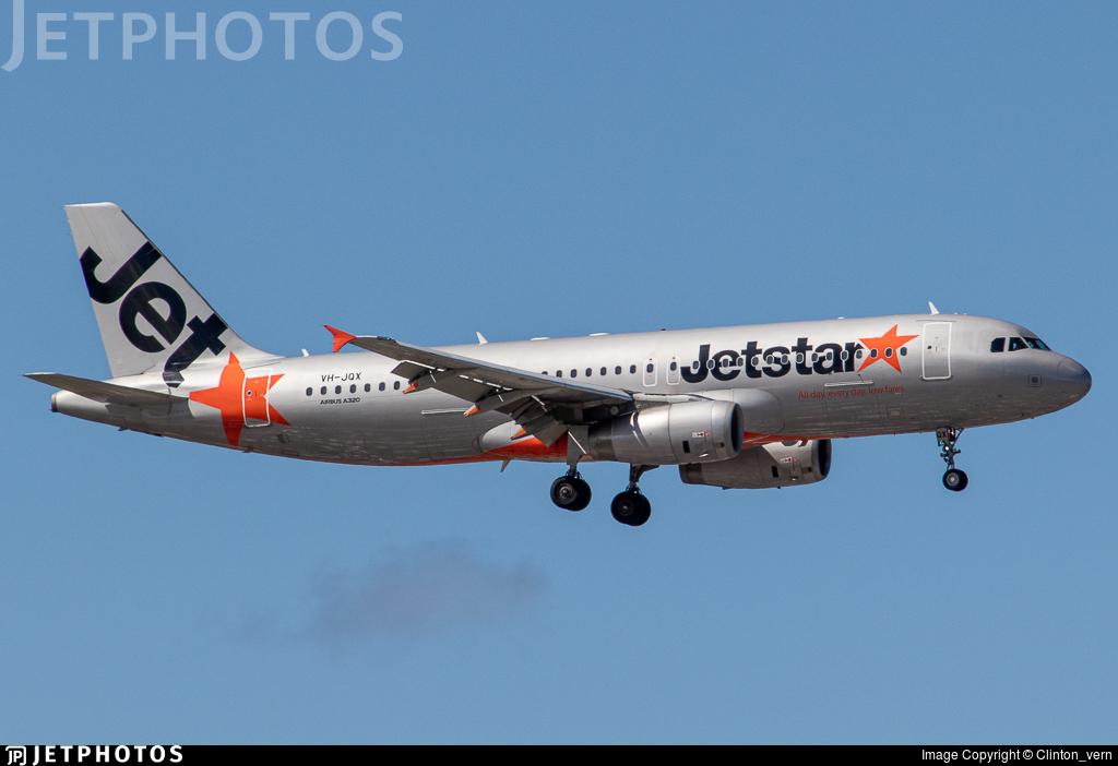 VH-JQX - Airbus A320-232 - Jetstar Airways