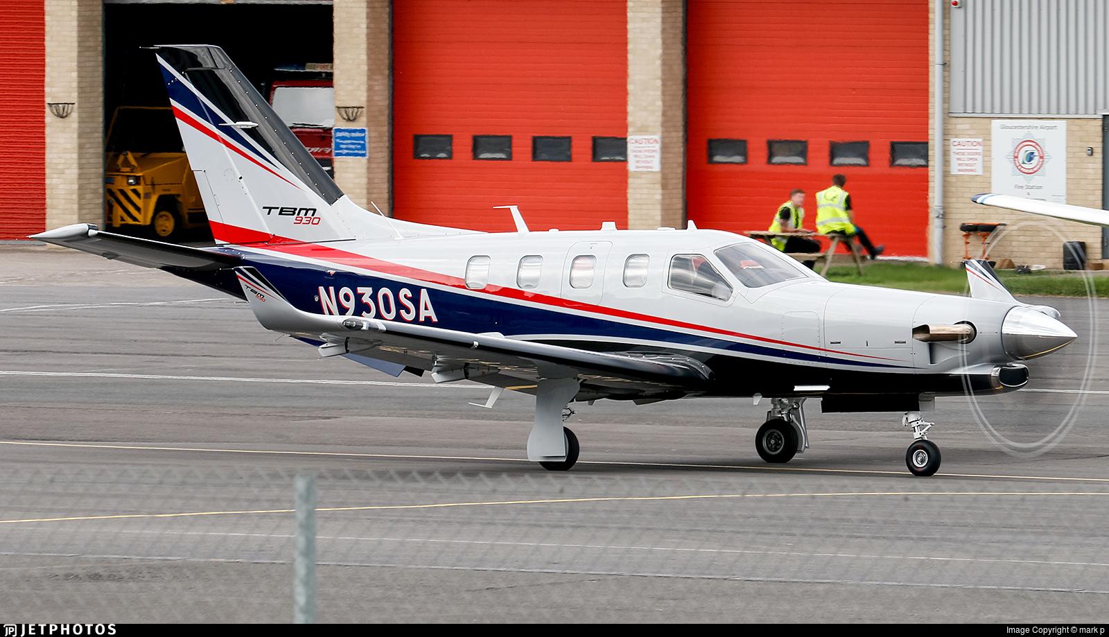 N930SA - Socata TBM-930 - Private