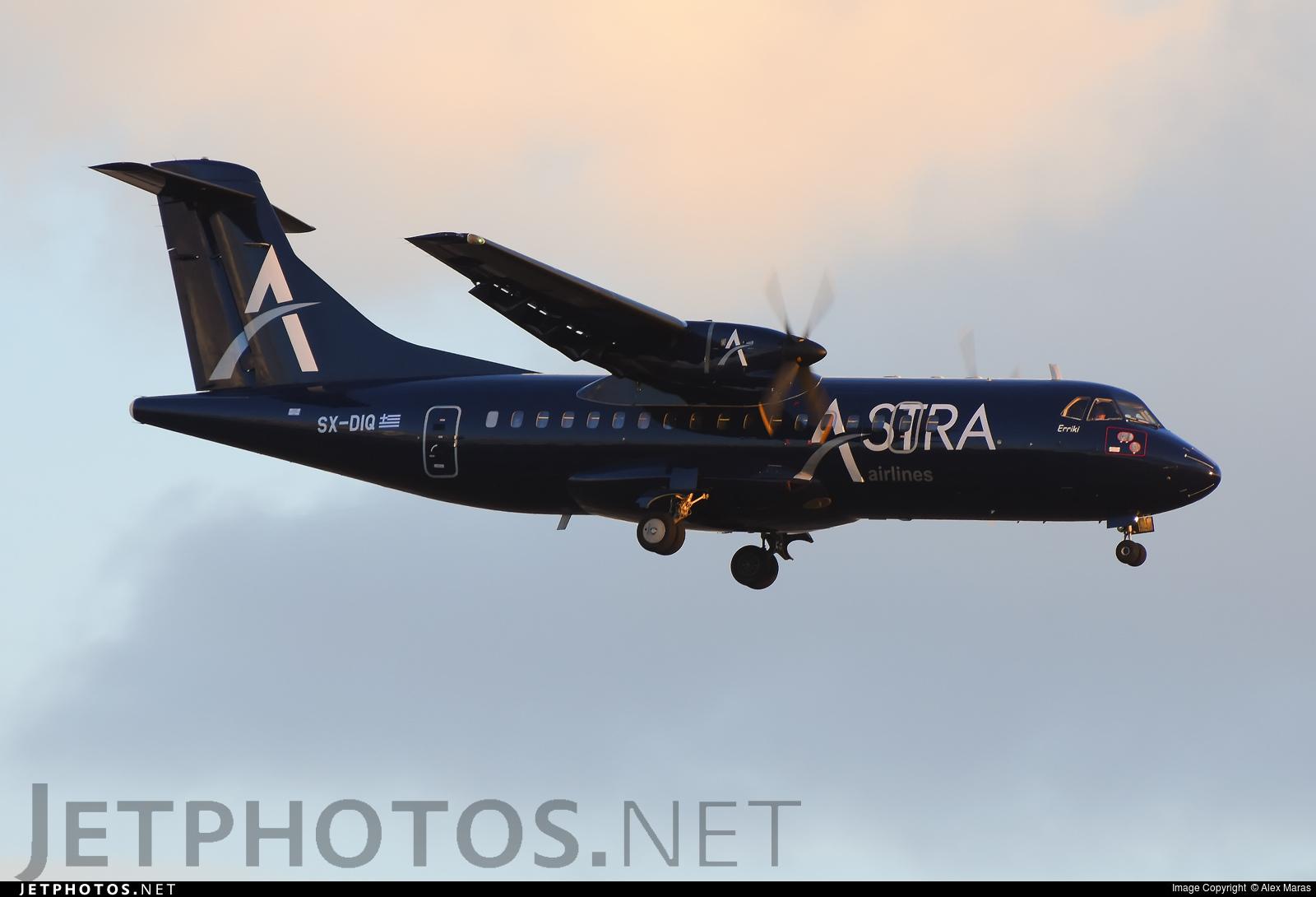 SX-DIQ - ATR 42-300 - Astra Airlines
