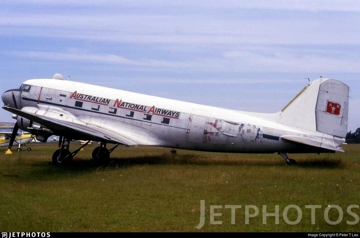A65-102 - Douglas C-47B Skytrain - Australian National Airways (ANA)