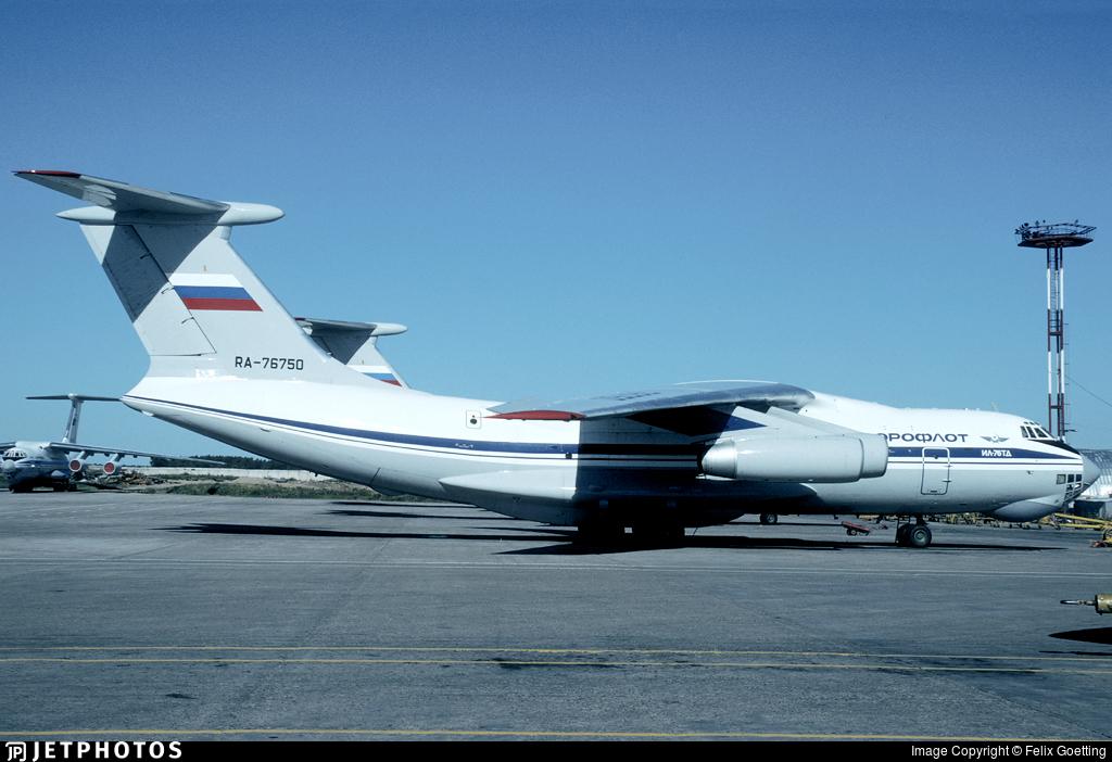 RA-76750 - Ilyushin IL-76TD - Aeroflot