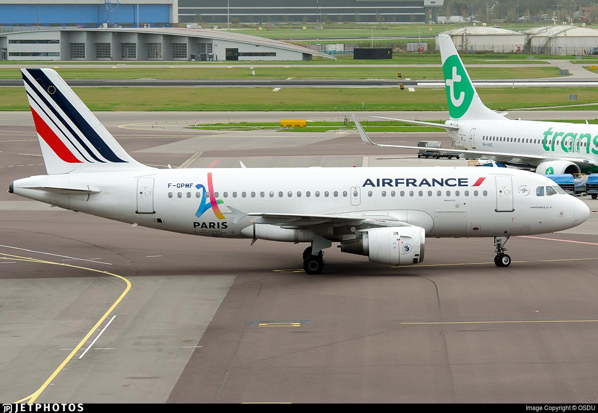 F-GPMF - Airbus A319-113 - Air France