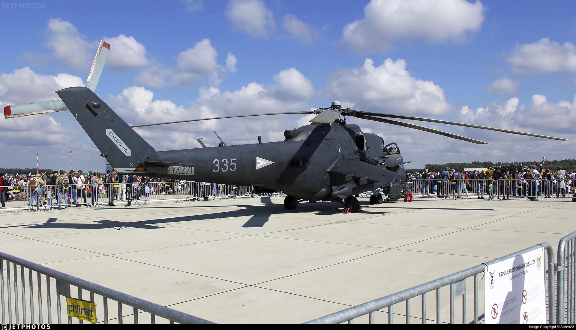 335 - Mil Mi-24P Hind F - Hungary - Air Force