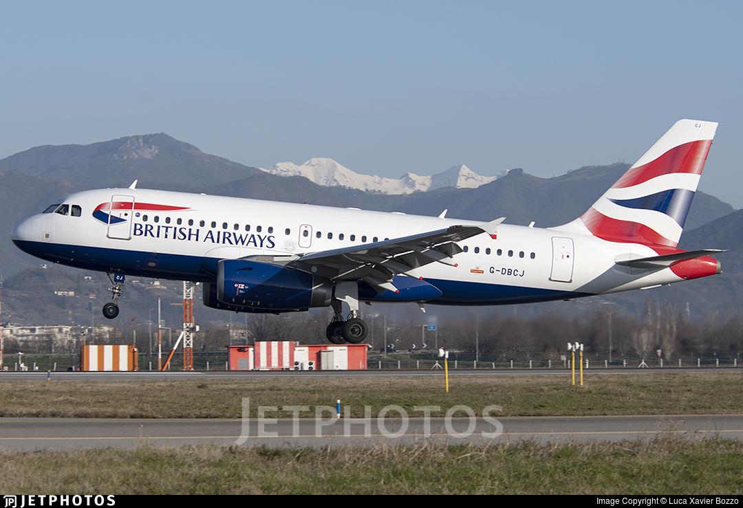 G-DBCJ - Airbus A319-131 - British Airways