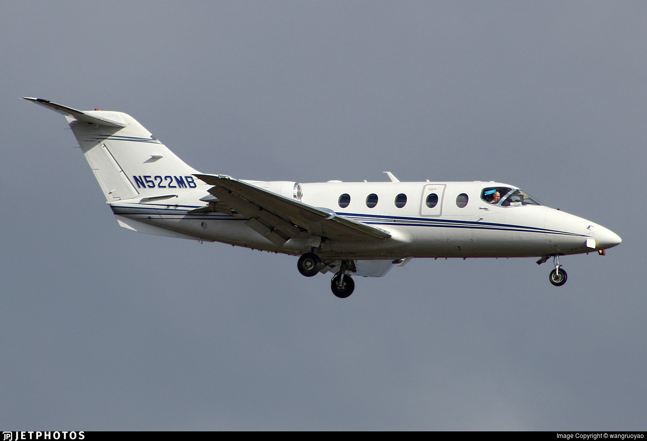 N522MB - Hawker Beechcraft 400A - Private
