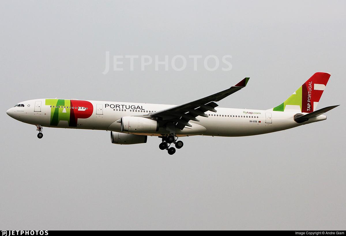 9V-STD - Airbus A330-343 - TAP Portugal