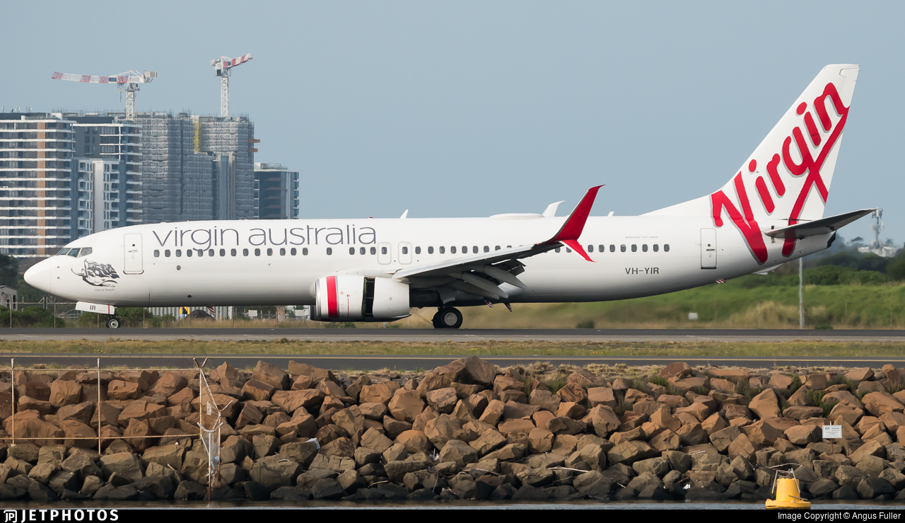 VH-YIR - Boeing 737-8FE - Virgin Australia Airlines