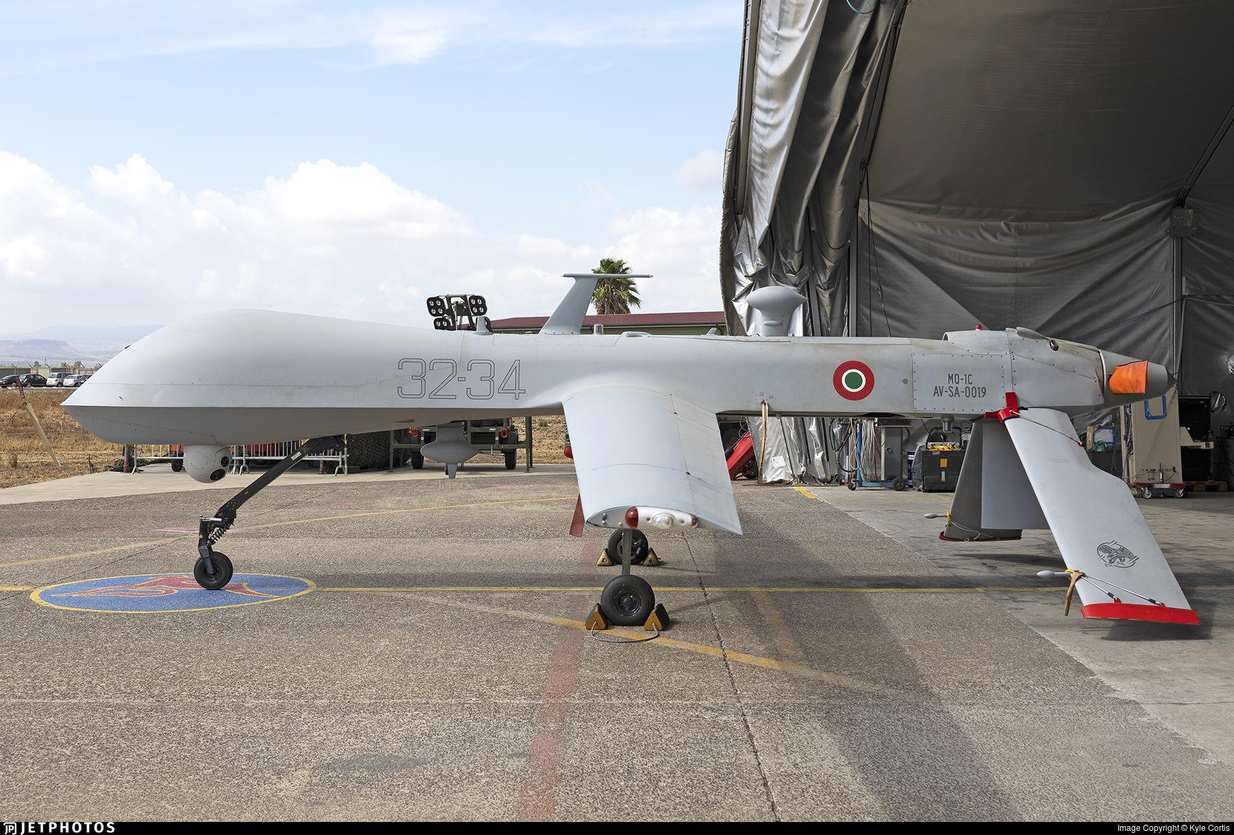 AV-SA-0019 - GAAS MQ-1 Predator - Italy - Air Force