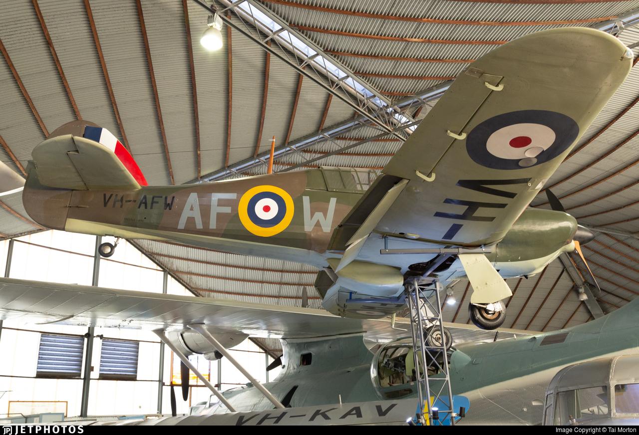VH-AFW - Hawker Hurricane Mk.I - Private