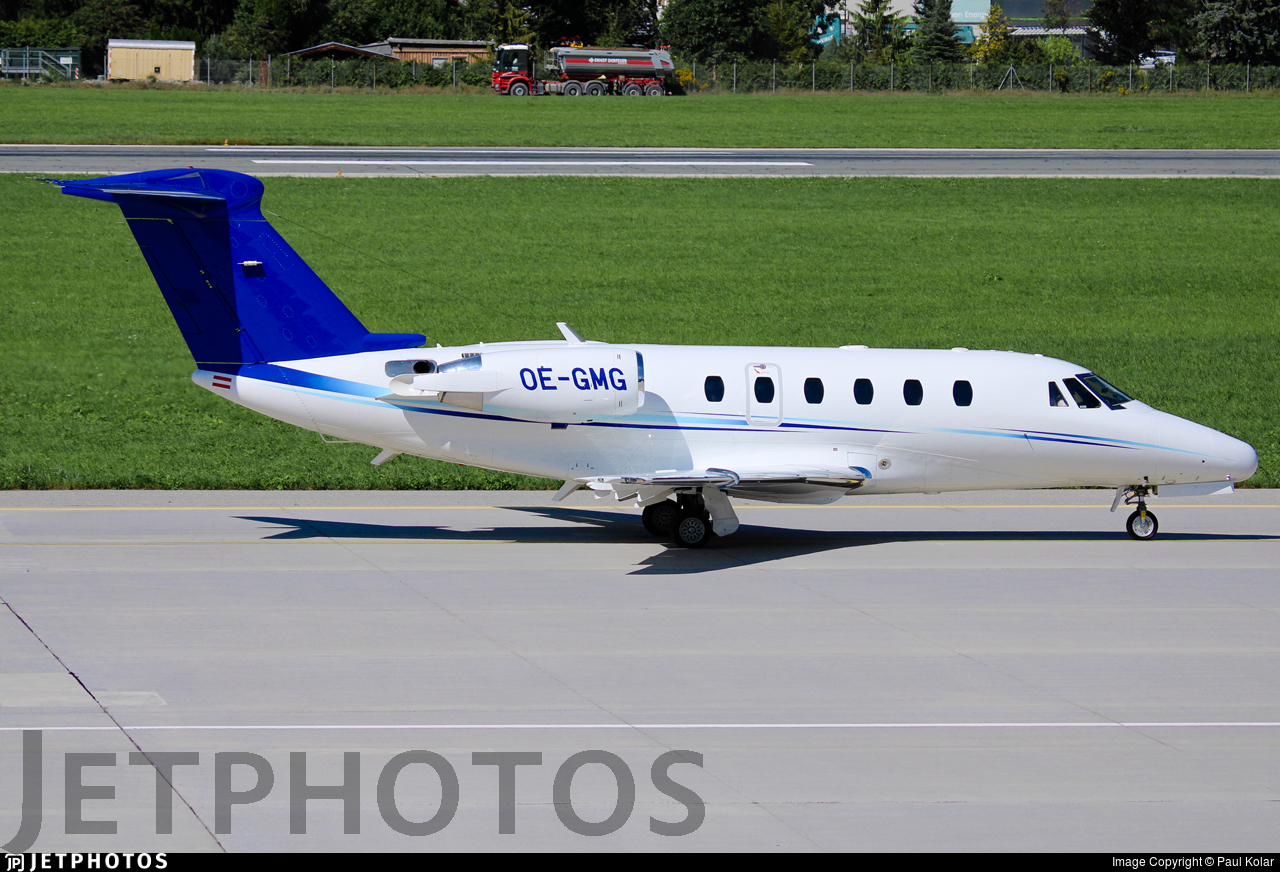 OE-GMG - Cessna 650 Citation VII - Tyrolean Jet Services