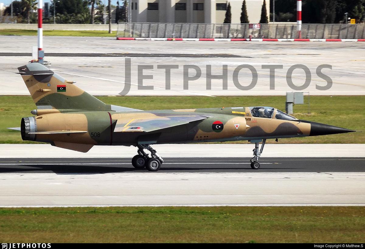 508 - Dassault Mirage F1EDA - Libya - Air Force